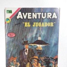 Tebeos: AVENTURA N° 772 - EL JUGADOR - ORIGINAL EDITORIAL NOVARO. Lote 151479018