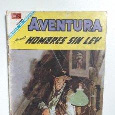 Tebeos: AVENTURA N° 538 - HOMBRES SIN LEY - ORIGINAL EDITORIAL NOVARO. Lote 151479406