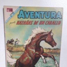 Tebeos: AVENTURA N° 553 - HAZAÑAS DE UN CABALLO - ORIGINAL EDITORIAL NOVARO. Lote 151481122