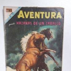 Tebeos: AVENTURA N° 573 - HAZAÑAS DE UN CABALLO - ORIGINAL EDITORIAL NOVARO. Lote 151481258