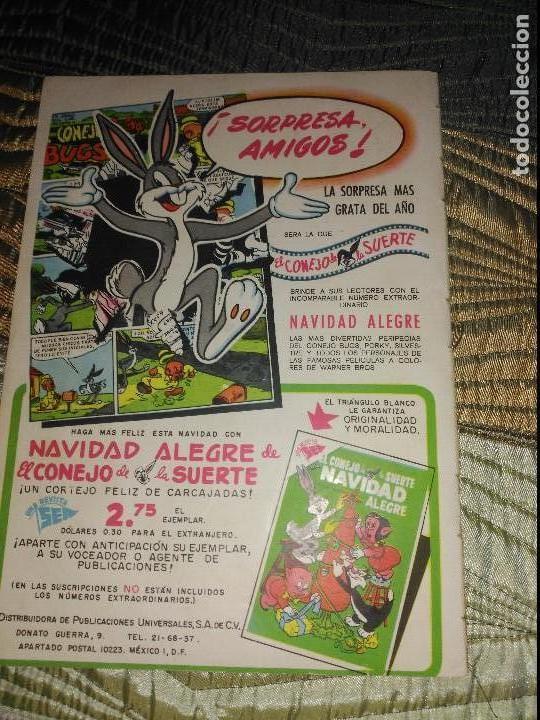 Tebeos: El conejo de la suerte Nº54 PROCEDENTE DE ENCUADERNACIÓN. - Foto 2 - 151626462
