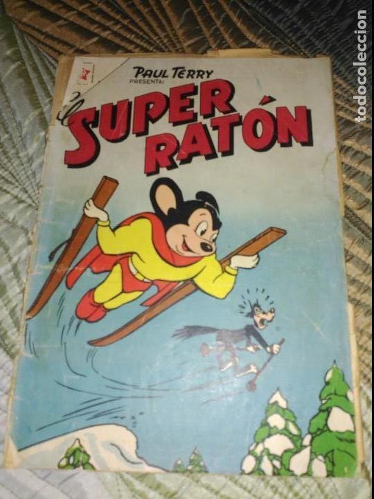 EL SUPER RATÓN Nº 67 ,PROCEDENTE DE ENCUADERNACIÓN. DIFÍCIL. (Tebeos y Comics - Novaro - Otros)