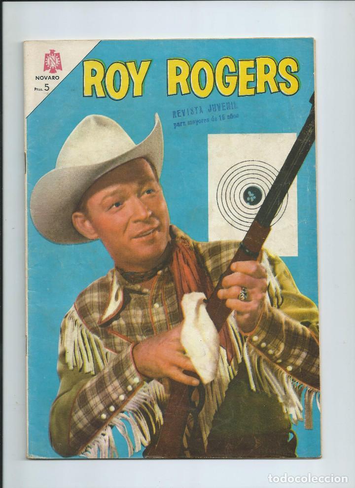 ROY ROGERS Nº 145 ED. NOVARO (SEPT 1964) (Tebeos y Comics - Novaro - Roy Roger)
