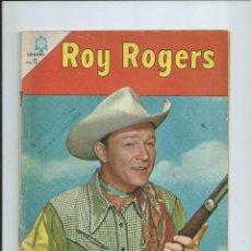 Tebeos: ROY ROGERS Nº 165 ED. NOVARO (MAYO 1966). Lote 151891510
