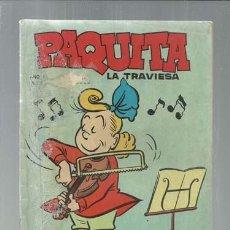 Tebeos: PAQUITA LA TRAVIESA 6, 1966, LORD COCHRANE, BUEN ESTADO. Lote 151932070