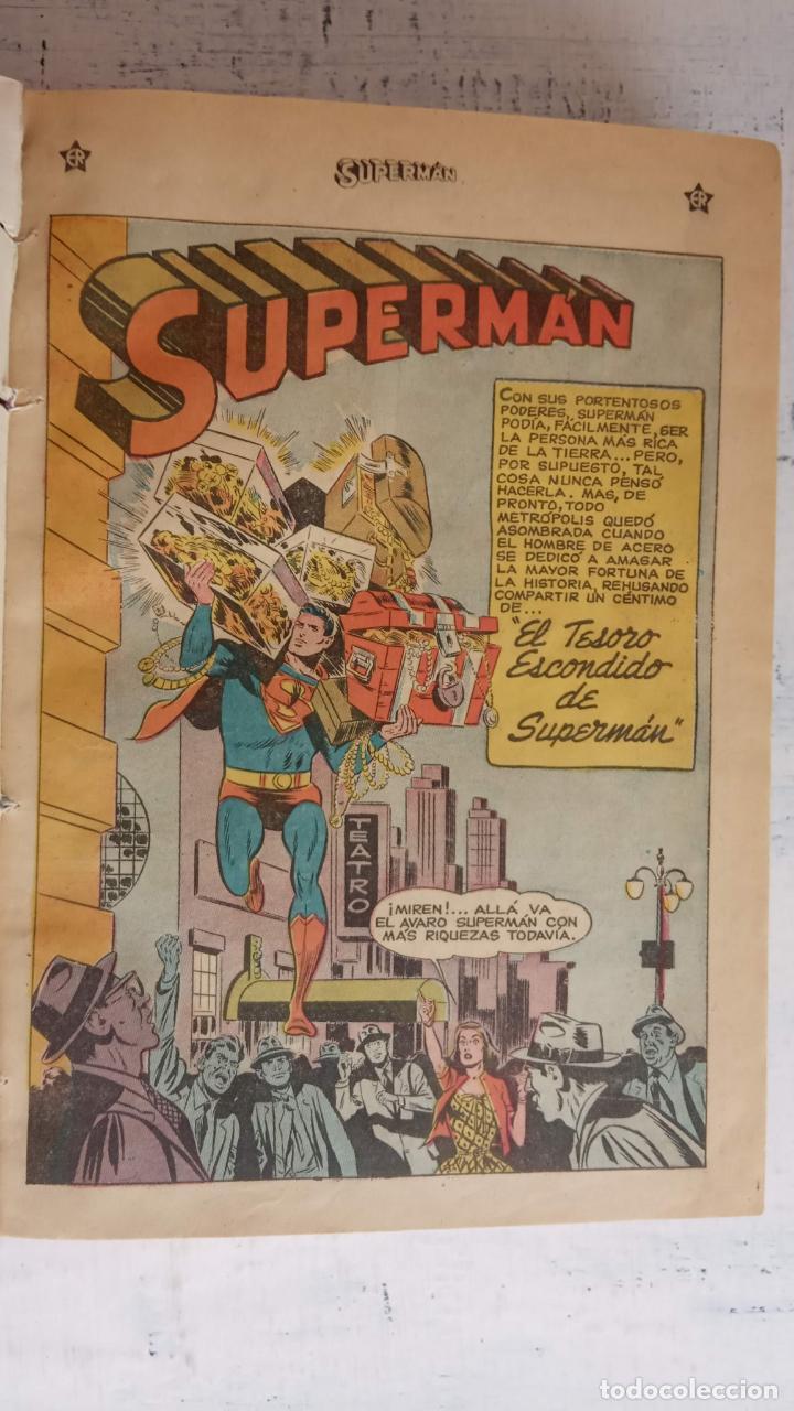 Tebeos: SUPERMAN - EXTRAORDINARIO - 1-6-1958, 1-4-1959, 1-9-59 - 217,222,228,229,237,238,241,257,258,259 - - Foto 7 - 152223234