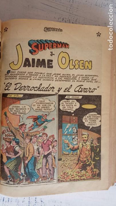 Tebeos: SUPERMAN - EXTRAORDINARIO - 1-6-1958, 1-4-1959, 1-9-59 - 217,222,228,229,237,238,241,257,258,259 - - Foto 14 - 152223234