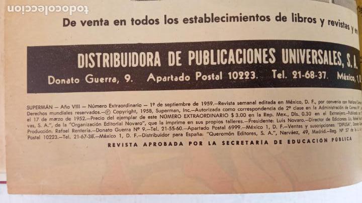 Tebeos: SUPERMAN - EXTRAORDINARIO - 1-6-1958, 1-4-1959, 1-9-59 - 217,222,228,229,237,238,241,257,258,259 - - Foto 27 - 152223234
