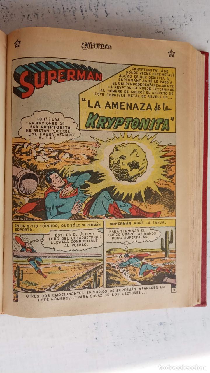 Tebeos: SUPERMAN - EXTRAORDINARIO - 1-6-1958, 1-4-1959, 1-9-59 - 217,222,228,229,237,238,241,257,258,259 - - Foto 48 - 152223234