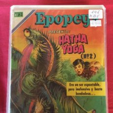 Livros de Banda Desenhada: NOVARO EPOPEYA NUMERO 146 MUY BUEN ESTADO. Lote 152526822