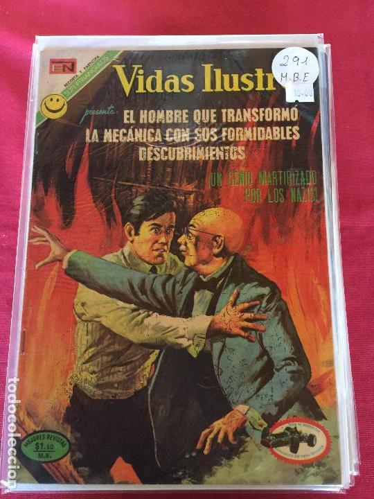 NOVARO VIDAS ILUSTRES NUMERO 291 MUY BUEN ESTADO (Tebeos y Comics - Novaro - Vidas ilustres)