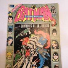 Tebeos: BATMAN – CAMPEONES DE LA JUSTICIA - NUM 676 - EDITORIAL NOVARO - 1973. Lote 152669114