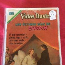 Tebeos: NOVARO VIDAS ILUSTRES NUMERO 234 BUEN ESTADO. Lote 152711770