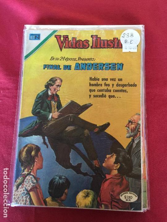 NOVARO VIDAS ILUSTRES NUMERO 238 BUEN ESTADO (Tebeos y Comics - Novaro - Vidas ilustres)