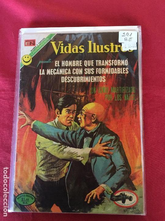 NOVARO VIDAS ILUSTRES NUMERO 291 BUEN ESTADO (Tebeos y Comics - Novaro - Vidas ilustres)