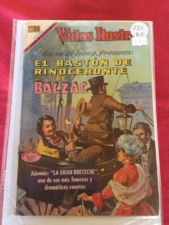 NOVARO VIDAS ILUSTRES NUMERO 221 NORMAL ESTADO (Tebeos y Comics - Novaro - Vidas ilustres)