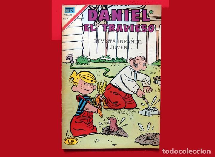 Tebeos: DANIEL EL TRAVIESO, - LOTE DOS COMICS; Nº: 68 (1970) y 133 (1973) - EDITORIAL NOVARO - ORIGINALES. - Foto 2 - 152828870