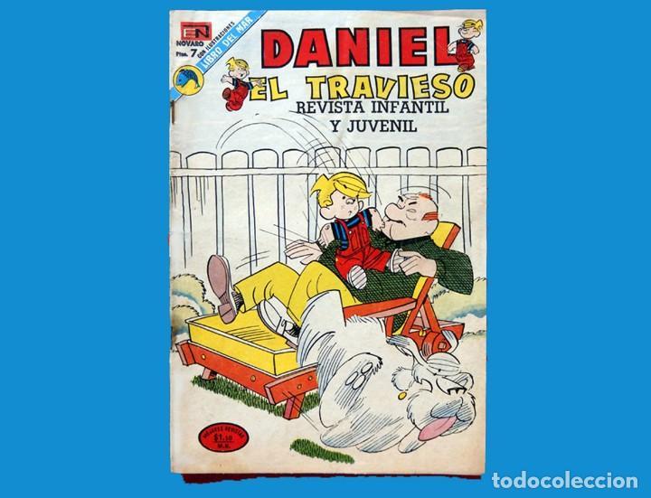 Tebeos: DANIEL EL TRAVIESO, - LOTE DOS COMICS; Nº: 68 (1970) y 133 (1973) - EDITORIAL NOVARO - ORIGINALES. - Foto 4 - 152828870