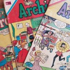 Tebeos: 3 REVISTAS COMPLETAS ARCHI- EDITORIAL NOVARO - AÑOS 1969 - 1970 - 1971 -. Lote 152905318