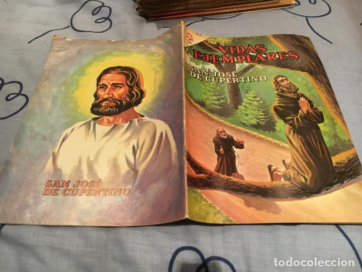 VIDAS EJEMPLARES Nº 223. SAN JOSE DE CUPERTINO.- NOVARO 1966 (Tebeos y Comics - Novaro - Vidas ejemplares)