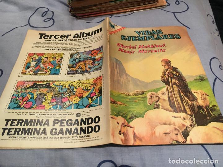 VIDAS EJEMPLARES Nº 249: CHARBEL MAKKLOUF, MONJE MARONITA - NOVARO 1967 (Tebeos y Comics - Novaro - Vidas ejemplares)