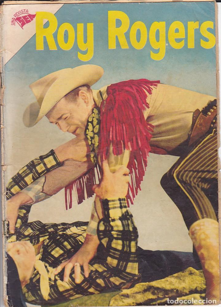 COMIC COLECCION ROY ROGERS Nº 34 (Tebeos y Comics - Novaro - Roy Roger)
