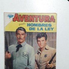 Tebeos: AVENTURA N° 213 - HOMBRES DE LA LEY - ORIGINAL EDITORIAL NOVARO. Lote 153432950