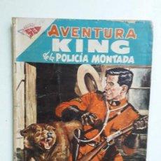 Tebeos: AVENTURA N° 86 - KING DE LA POLICÍA MONTADA - ORIGINAL EDITORIAL NOVARO. Lote 153525690