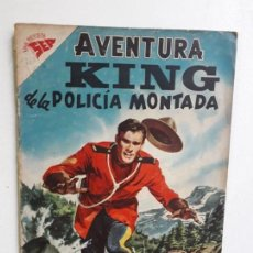 Tebeos: AVENTURA N° 82 - KING DE LA POLICÍA MONTADA - ORIGINAL EDITORIAL NOVARO. Lote 153525962