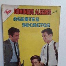 Tebeos: DOMINGOS ALEGRES N° 410 - AGENTE SECRETOS - ORIGINAL EDITORIAL NOVARO. Lote 153597034