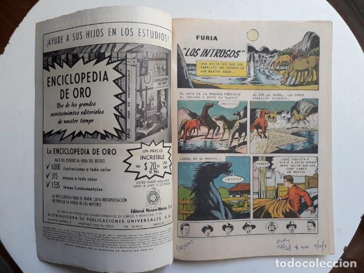 Tebeos: Domingos alegres n° 480 - Furia - original editorial Novaro - Foto 2 - 153597482