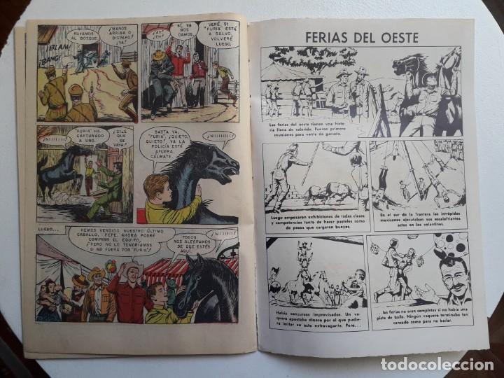 Tebeos: Domingos alegres n° 480 - Furia - original editorial Novaro - Foto 3 - 153597482