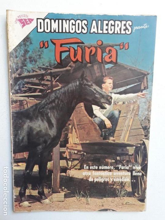 DOMINGOS ALEGRES N° 480 - FURIA - ORIGINAL EDITORIAL NOVARO (Tebeos y Comics - Novaro - Domingos Alegres)