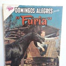 Tebeos: DOMINGOS ALEGRES N° 480 - FURIA - ORIGINAL EDITORIAL NOVARO. Lote 153597482