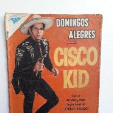 Giornalini: OPORTUNIDAD! - COMIC CON ALGÚN DETERIORO - DOMINGOS ALEGRES N° 306 - CISCO KID - ORIGINAL NOVARO. Lote 153597886