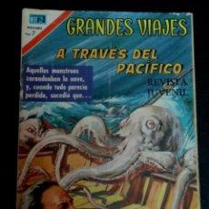 Tebeos: GRANDES VIAJES A TRAVÉS DEL PACÍFICO AÑO VIII Nº 95 1 DICIEMBRE 1970 26X18 CM.. Lote 153653678