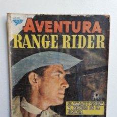 Tebeos: AVENTURA N° 115 - RANGE RIDER - ORIGINAL EDITORIAL NOVARO. Lote 153662282
