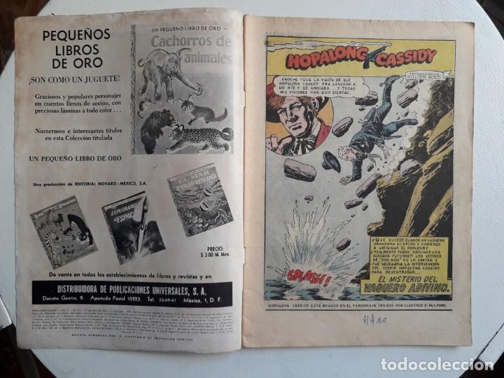 Tebeos: Hopalong Cassidy n° 112 - original editorial Novaro - Foto 2 - 153717790