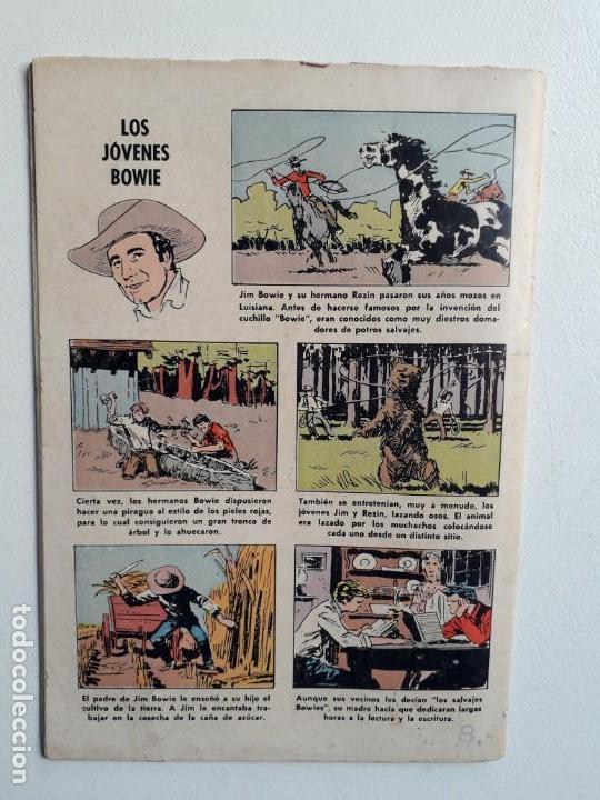 Tebeos: Domingos alegres n° 348 - Jim Bowie - original editorial Novaro - Foto 3 - 153718606