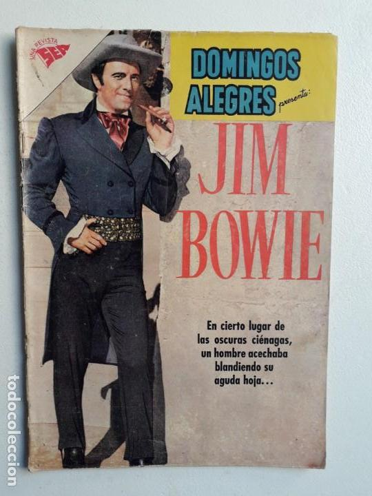 DOMINGOS ALEGRES N° 348 - JIM BOWIE - ORIGINAL EDITORIAL NOVARO (Tebeos y Comics - Novaro - Domingos Alegres)