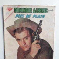 Tebeos: DOMINGOS ALEGRES N° 433 - PIES DE PLATA - ORIGINAL EDITORIAL NOVARO. Lote 153721370