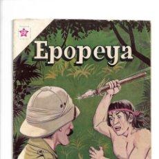 Tebeos: EPOPEYA, EL TRIUNFO DE LA PAZ, Nº 61. AÑO 1963. EDICIONES ER.. Lote 153816394