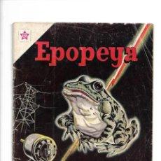 Tebeos: EPOPEYA, LA CONQUISTA DE LA ELECTRICIDAD. Nº 62. AÑO 1963. EDICIONES ER.. Lote 153817546
