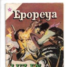Tebeos: EPOPEYA, LUZ EN EL ASIA, Nº 64. AÑO 1963. EDICIONES ER.. Lote 153818886