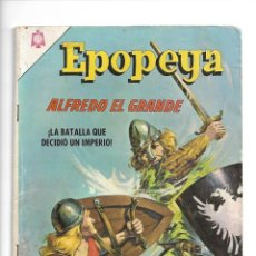 Tebeos: EPOPEYA, ALFREDO EL GRANDE, Nº 90. AÑO 1965. EDITORIAL NOVARO.. Lote 153819478