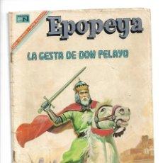 Tebeos: EPOPEYA, LA GESTA DE DON PELAYO. Nº 105. AÑO 1967. EDITORIAL NOVARO, S. A.. Lote 153908018
