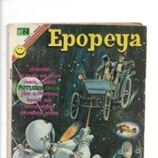 Tebeos: EPOPEYA, EL MARAVILLOSO MUNDO DEL PORVENIR, Nº 193. AÑO 1972. EDITORIAL NOVARO, S. A.. Lote 153912474
