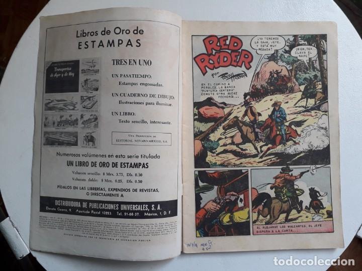 Tebeos: Red Ryder n° 68 - original editorial Novaro - Foto 2 - 153917278