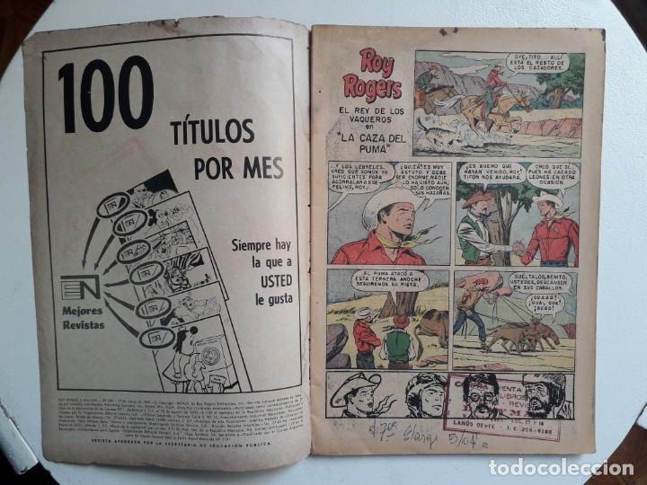 Tebeos: Roy Rgoers n° 199 (foto en portada) - original editorial Novaro - Foto 2 - 154094550