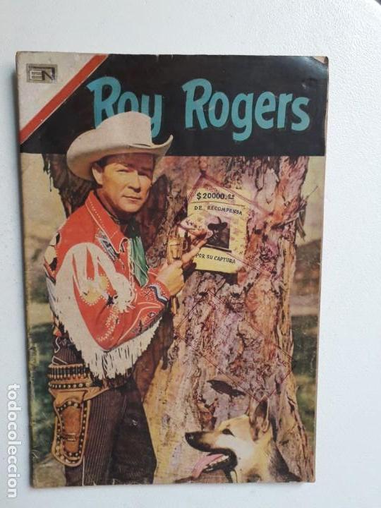 ROY RGOERS N° 199 (FOTO EN PORTADA) - ORIGINAL EDITORIAL NOVARO (Tebeos y Comics - Novaro - Roy Roger)